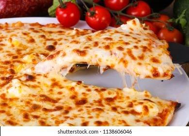 Tasty Four cheese pizza