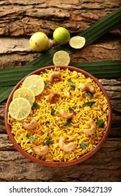 Tasty homemade biriyani or birani with basmathi rice