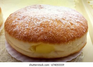Tasty Japanese Bakery Styled Creamed Filled Donut