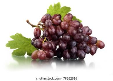 Tasty juicy ripe grapes.