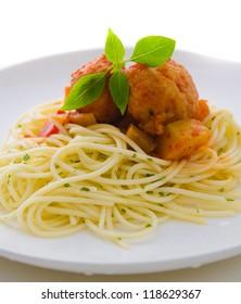 tasty looking spaghetti bolognese