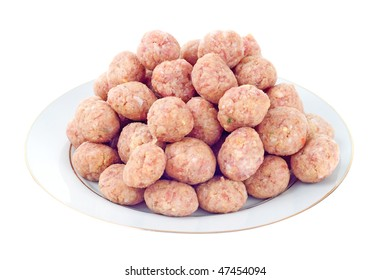 Tasty meatballs made of minced meat