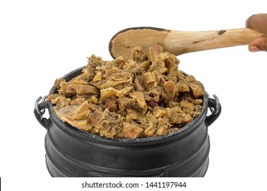 Tasty Mixed Meat in African Pot