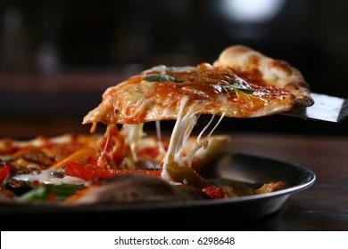 Tasty PIZZA slice