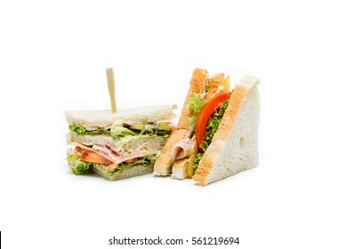 tasty whitebread sandwich