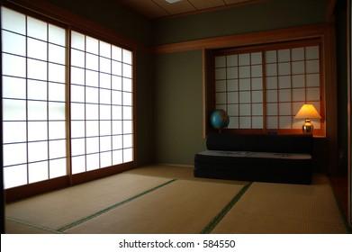 Tatami room and shoji screen