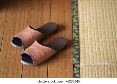 tatami and slipper