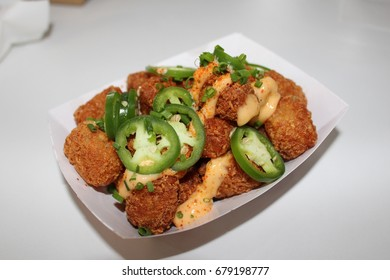 Tater Tots with Jalapeños