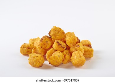 Tater Tots on White