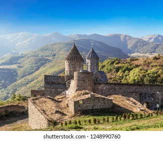 Tatev monastery-Armenian monastery complex of the late IX-early X centuries in Syunik region. Armenia