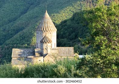 Tatevivank, Armenia, September, 07, 2014. Nobody, the monastery of Tatevivank [Tatevian] (IX-XVII centuries)