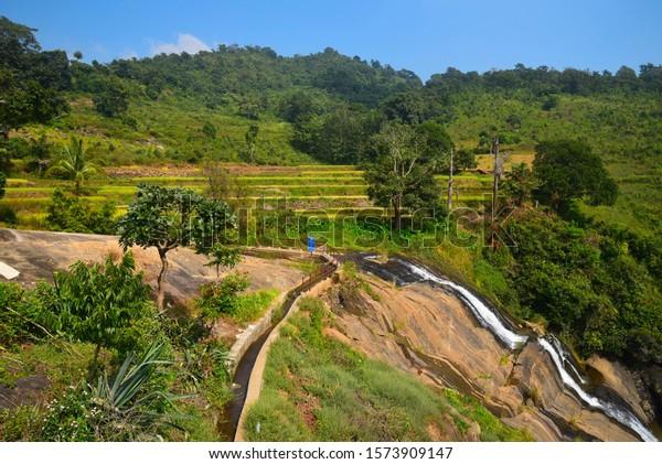 Tatiguda waterfalls in Araku valley