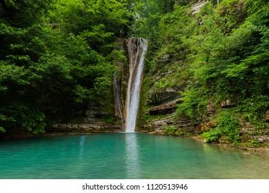 TATLICA WATERFALLS, ERFELEK, SINOP, TURKEY.