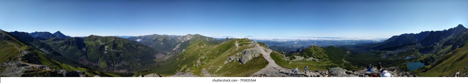 Tatra Mountain Range