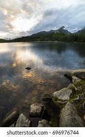 Tatra mountain in Slovakia - Strbske Pleso lake