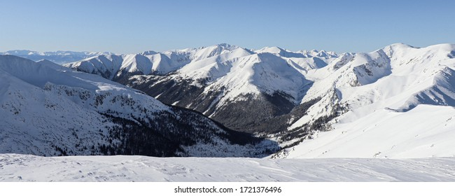 The Tatra Mountains - the highest range in the Carpathian Mountains, also the highest between the Alps and the Urals and the Caucasus. They are part of the Tatra Chain in the Central Western Carpathia