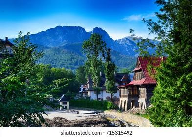 Tatra mountains poland zakopane giewont