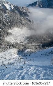 Tatra Mountains Snowy Poland