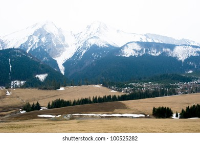 Tatra mountains in spring