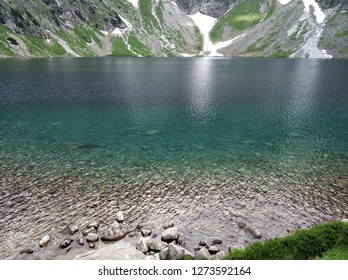 "The Tatra Mountains, Tatras, or Tatra (Tatry either in Slovak (pronounced ) or in Polish.This is the highest mountain range in the Carpathian Mountains. Morskie Oko (literally ""Sea Eye""."