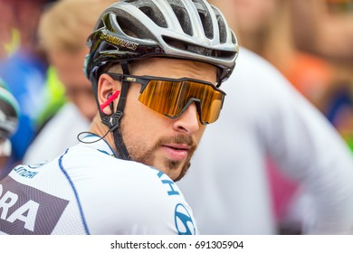 Tatranska Bukowina, Poland. AUGUST 4. 2017: Peter Sagan on 74. Tour De Pologne.