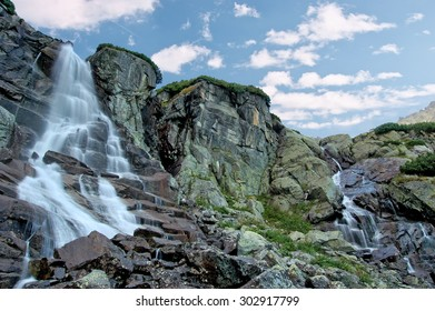 Tatra's waterfall