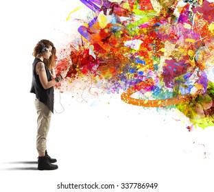 Teen fine arts pix s