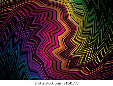 Tattoo inspired rainbow background that would make an ideal desktop