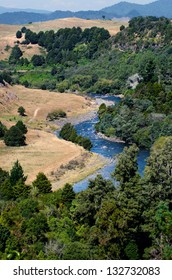 Taumarunui river in the central North Island of  New Zealand.