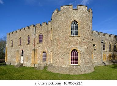 Taunton Castle, Somerset Grade I listed Norman Castle