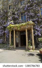Taunton, England – April 27, 2019: Castle in Taunton, United Kingdom, Europe