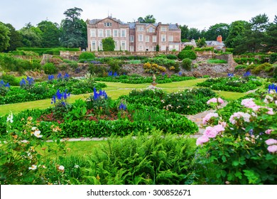 TAUNTON, ENGLAND - JULY 01, 2015: Hestercombe Gardens near Taunton, Somerset, is one of the most important heritage protected gardens of the 20th century, owned by the National Trust