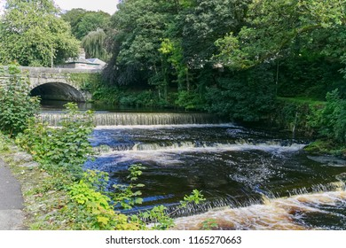 Tavistock Bridge Devon and River Tavy