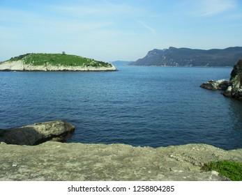 Tavsan Island, Amasra, Turkey
