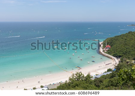 254d1bf815e Tawaen Beach On Sunny Day Thailand Stock Photo (Edit Now) 608696489 ...