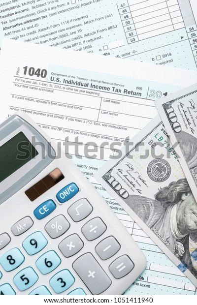 form 1040 calculator  Tax Form 6 Calculator Us Dollars Stock Image | Download Now