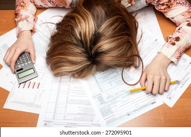 Tax, Tax Form, Frustration.