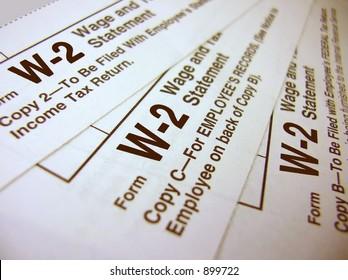 Tax Forms - W-2