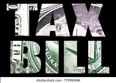 Tax Plan & Tax Bill, Money