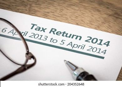 Tax return 2014