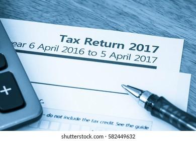 Tax return form 2017