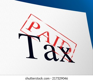 Taxes Paid Meaning Paying Settlement And Payment