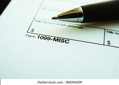 Taxes Stock Photo 1099-Misc High Quality