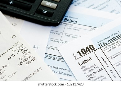 Taxes: Tax Form, Calculator and Receipts