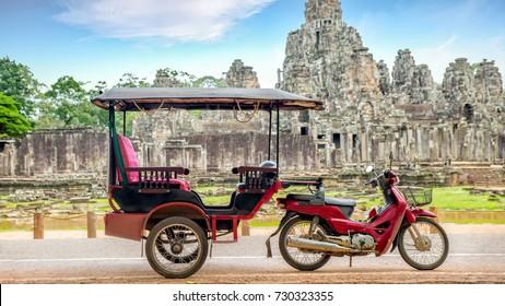 Taxi in Cambodia