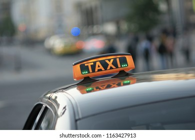TAXI in city