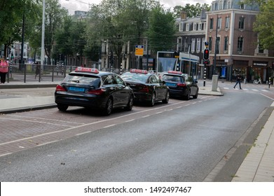 Taxi Stand At The Frederiksplein Amsterdam The Netherlands 2019