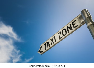 Taxi Zone Sign