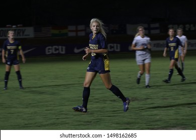 Taylor Bray midfielder/forward for Northern Colorado University at GCU Soccer Stadium in Phoenix,AZ/USA Sept. 5,2019.