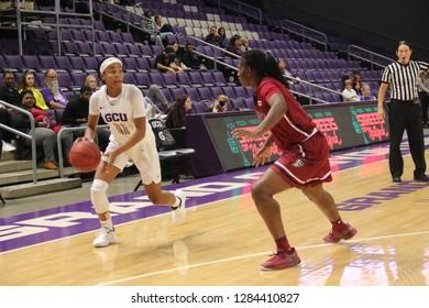 Taylor Caldwell guard for the Grand Canyon University Lopes at GCU Arena in Phoenix,  Arizona /USA January 10,2019.